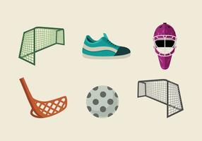 Floorball vector pack