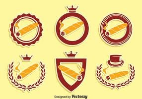 Cigar Label Collection Vector
