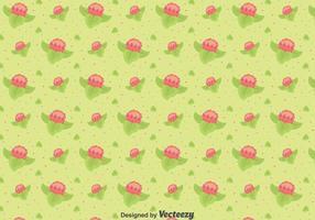 Flat Protea Blumen Muster