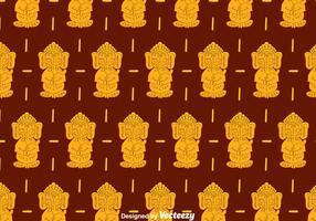Ganesha Muster Hintergrund