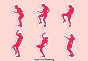 Zumba Dance Vector Set