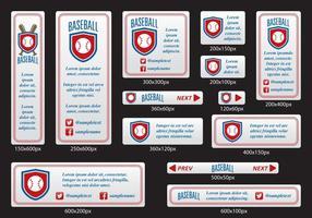 Bannières de baseball