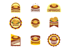 Empanadas Vector Emblem