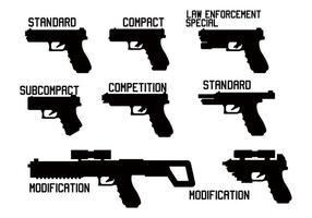 Glock vector