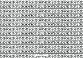 Hand gezeichnet Ethnic Style Pattern Hintergrund
