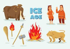 Gratis Ice Age Vector