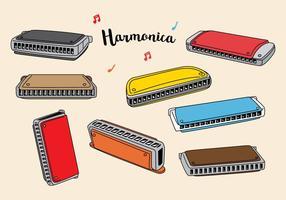 Vecteur harmonica gratuit