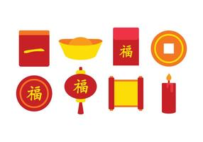 Free Chinese Icon Set vector
