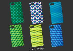 Geometrische Telefoon Cases Vector Template