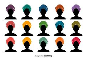 Turban Vector Icon Set