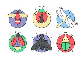 Free Vector Bugs and Insects