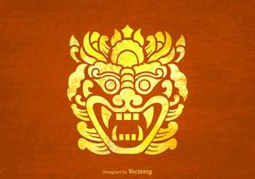 Free Vector Barong Background