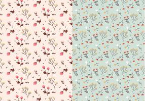 Pastel-plants-vector-pattern