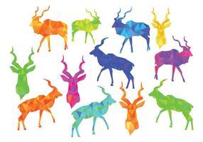Freier Kudu Vektor