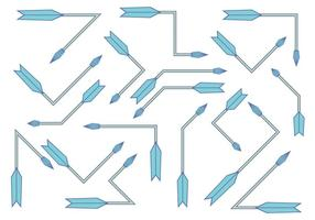 Flechas vector