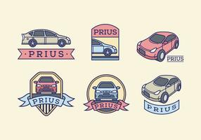 Prius color vector pack
