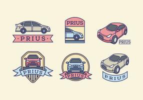 Pacote de vetores color Prius