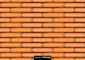 Vector padrão sem costura de pranchas de madeira