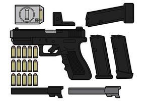 Glock vektor