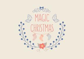 Christmas-decoration-greeting-vector