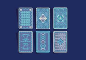 Playing Card Back Vector