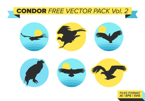 Condor Silhouettes Free Vector Pack Vol. 2
