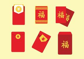 Red Packet Vector Set