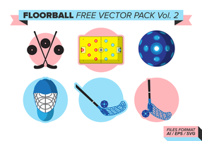 Pack de vecteur gratuit floorball vol. 2
