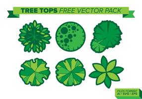 Tree Tops Pack Vector Libre