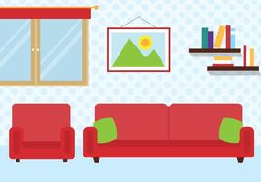 Free Vector Room Illustration