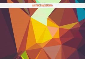 Sfondo geometrico colorato vettoriale gratuito