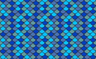 Vector-blue-pattern-of-fish-scales