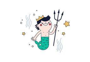 Vector Merman Gratis