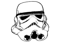 Star wars - Storm Trooper head / helmet