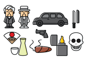 Yakuza, Japan Organized Crime Icons