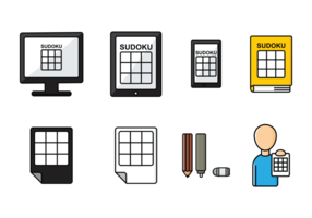 Sudoku Pictogrammen