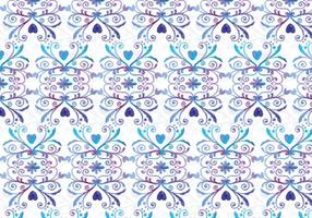 Azul y púrpura vector acuarela fondo real