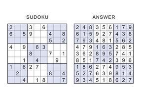 Sudoku Vector Spel