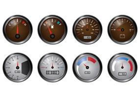 Set Of Tachometer Vectors