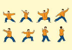 Tai Chi Vector Icons
