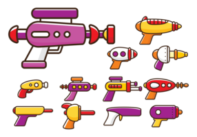 Laser Gun Cartoon vector