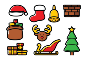 Sinterklaas Vector Set