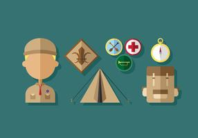 Vecteurs Boy Scouts