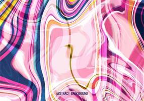 Pink Vector Abstract Marble Background