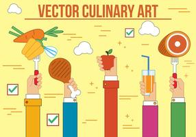 Free Culinary Art Vector
