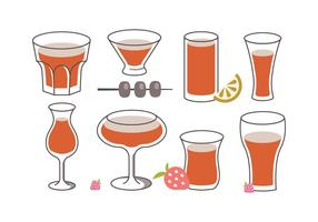 Sangria Vector Pack
