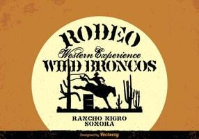 Gratis Wild West Vector Achtergrond
