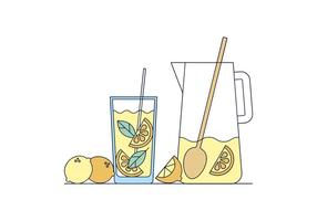 Gratis Lemonade Vector