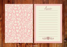 Cute Pink Wedding Planner  vector
