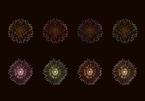 Vector Of Fire Crackers
